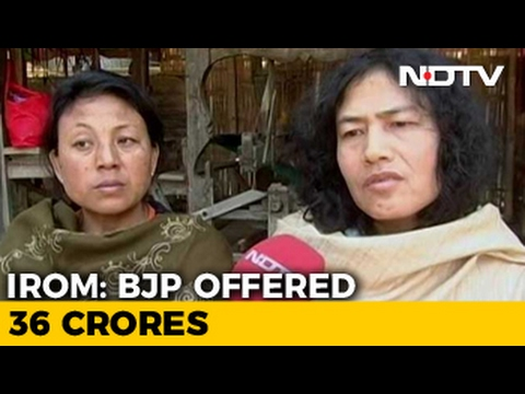 Manipur Elections 2017: Irom Sharmila And 36 Crore Allegation Controversy