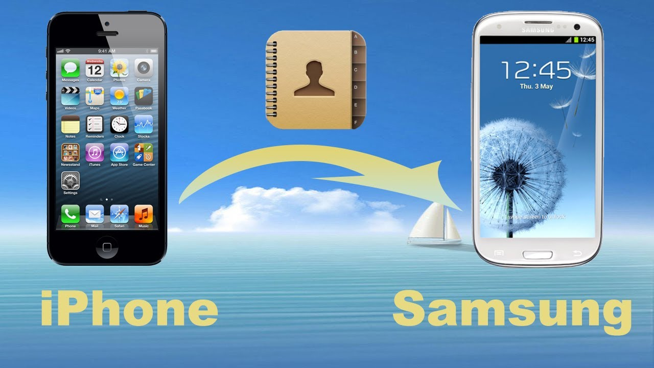 iphone to samsung transfer how to transfer contacts from iphone 5 to samsung iphone 15496