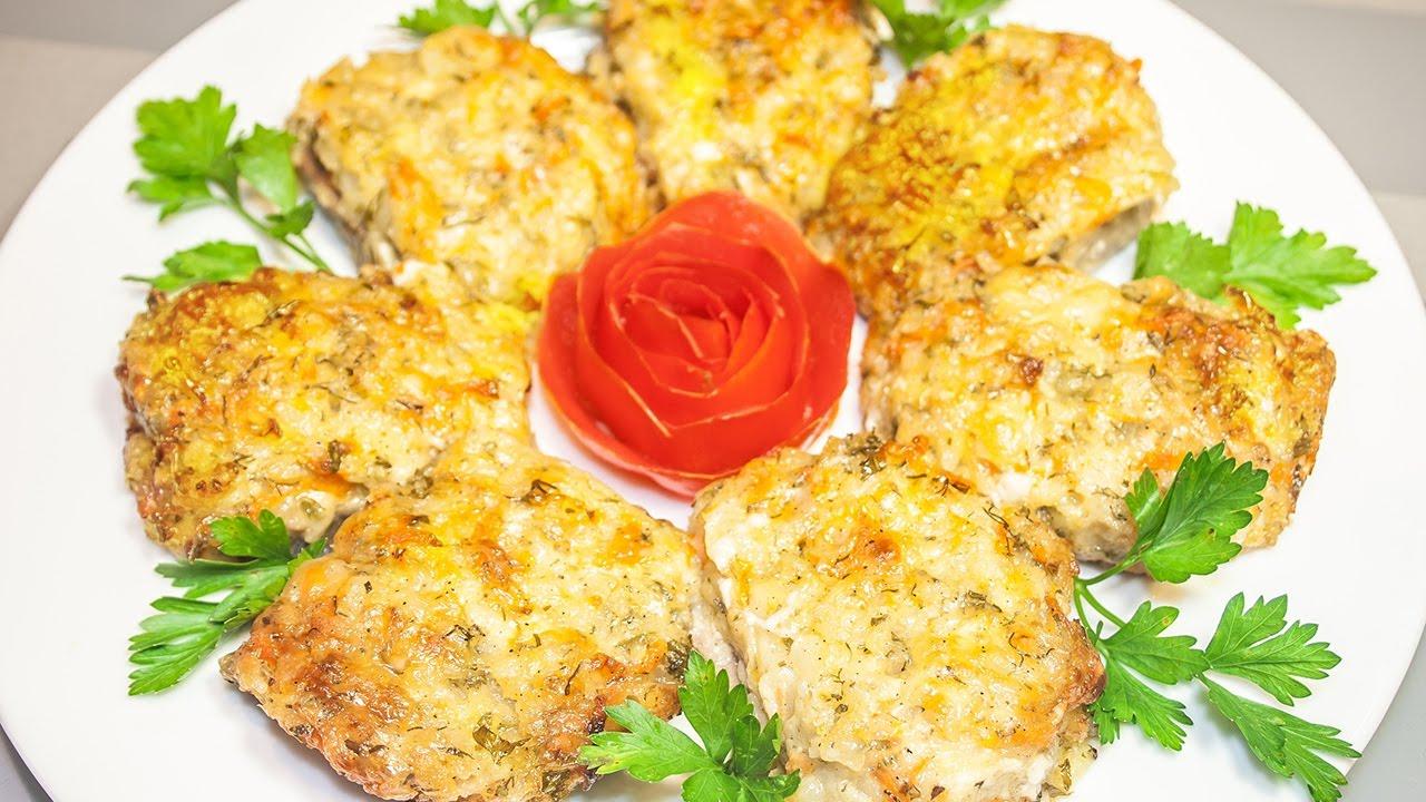 Говядина с картофельно-сырной начинкой, запеченная в духовке