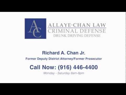 Sacramento DUI Lawyer Richard A. Chan Jr.,