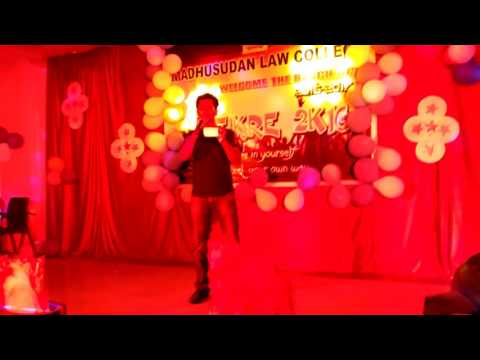 Ae Dil Hai Mushkil by Biswaranjan(Babuni) Digal -Madhusudan Law College, Cuttack, Fresher Party 2016