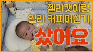 [육아일기]일리커피머신기Y3.3ㅣ캡슐커피ㅣ젤리캣ㅣ애착인…