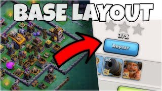 BUILDER HALL 8 BEST ANTI 2 STAR BASE w/ PROOF!! STRONGEST BH8 BASE IN COC | CLASH OF CLANS