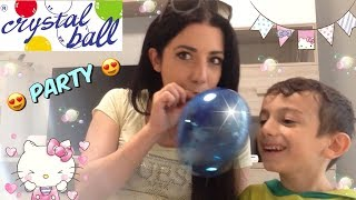 CRYSTAL BALL PARTY