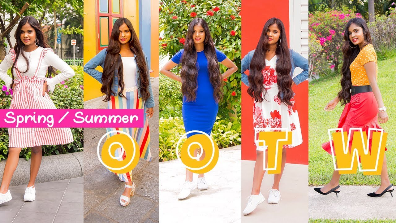 OOTW | Spring Summer Outfit Ideas | Casual Outfits