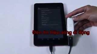 Using USB 3G @ ASUS MeMO Pad ME172V