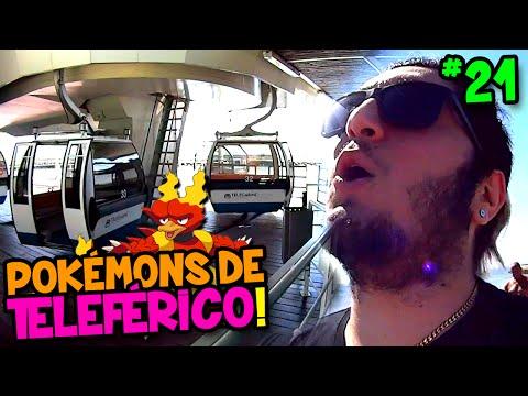 POKÉMON GO #21 - FUI ANDAR DE TELEFÉRICO E OLHA O QUE CAPTUREI !