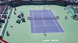 Amanda anisimova - Petra Kvitova, Indian Wells 2018