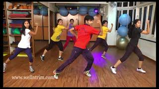 Aerobics for body toning and for fast weight loss...