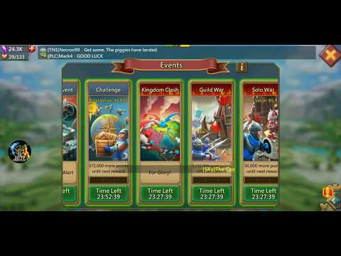 Lords Mobile KvK pt1- I got attacked by 400m might player!