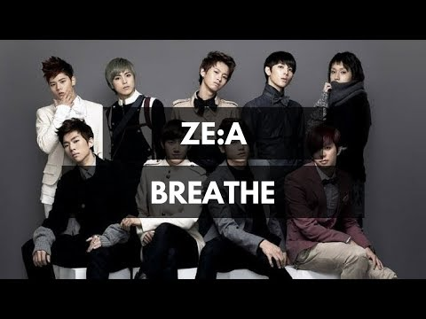 ZE:A - Breathe Lyrics