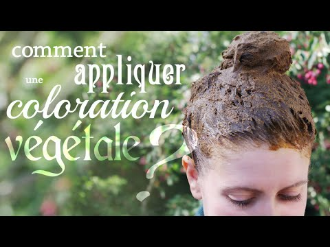 Question du jour 9 comment appliquer une coloration v g tale youtube - Comment enlever une coloration ...