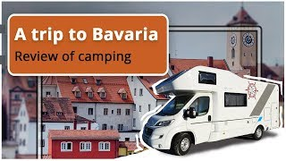 RV trip to Bavaria. Via Claudia Camping Review
