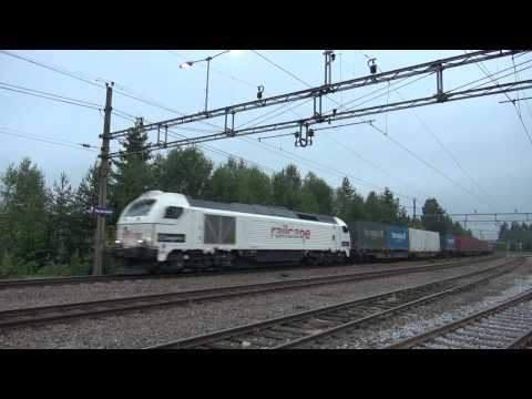 Railcare T68 901-8 i trafikk for CargoNet