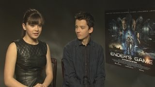 Ender's Game: Asa Butterfield and Hailee Steinfeld interview