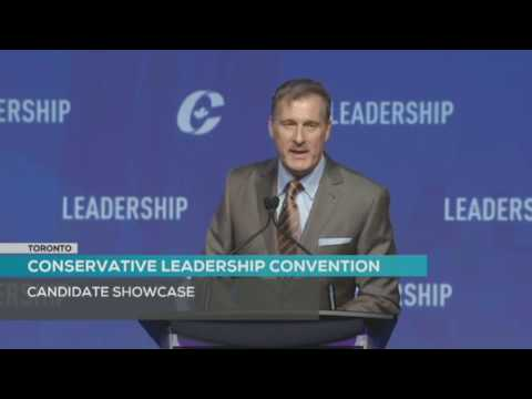 2017 Conservative Convention - Maxime Bernier