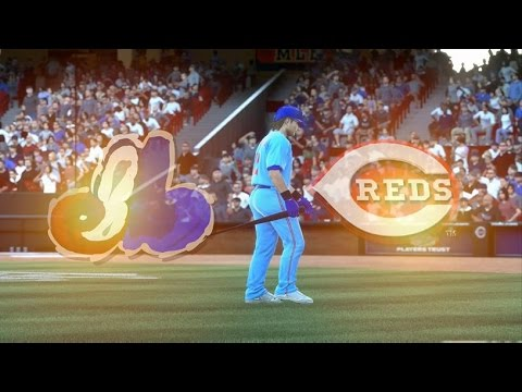 MLB 14 The Show Montreal Expos At Cincinnati Reds