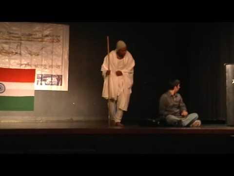 Gandhiji Skit At Utsav 09