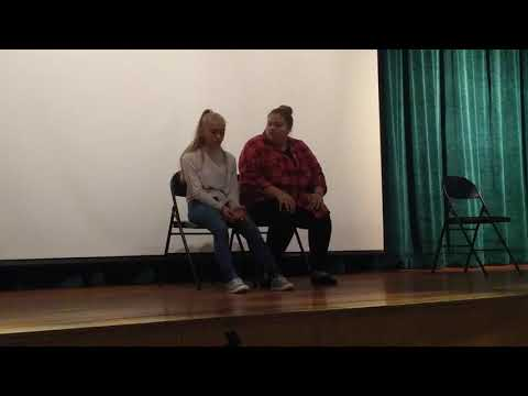 Drug Story Theater at Stacy Middle School in Milford