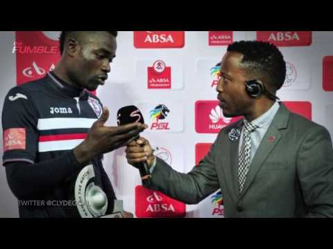 South African Soccer Player Thanks his Wife AND His Girlfriend For His Trophy