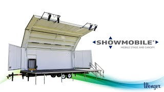 Showmobile® Mobile Stage and Canopy | Virtual Tour
