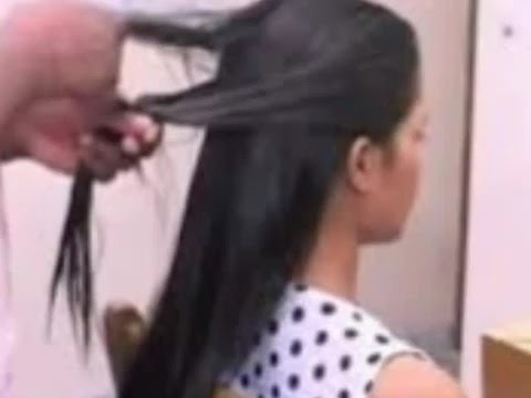 indian ladies hair cutting style youtube