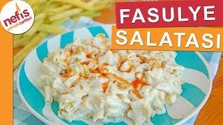 Aşırı Lezzetli Sarı Fasulye Salatası (denemeyen kalmasın) - Nefis Yemek Tarifleri