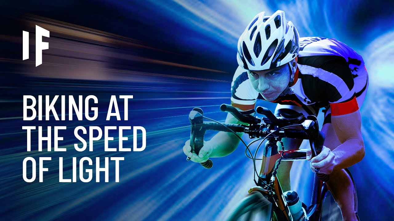 What If You Rode Your Bike at the Speed of Light?