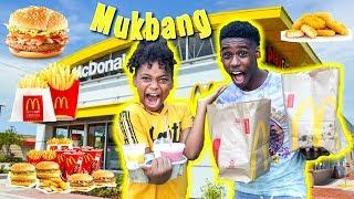 MCDONALDS MUKBANG!!! THEY RAN OUT OF FOOD!