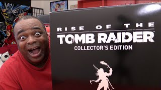 UNBOXING: Rise of The Tomb Raider Collector