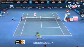 Rafael Nadal Vs Novak Djokovic Best Points [HD] (Part 2)