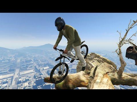 Самый опасный паркур на велосипедах [Гонки] GTA 5 Online
