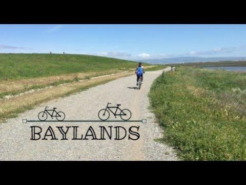 Biking Baylands Nature Preserve   Palo Alto, California
