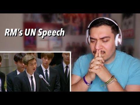 BTS RM's UN Speech Reaction