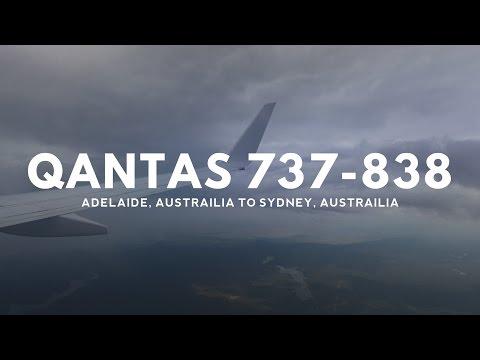 QANTAS 737-838 - Adelaide to Sydney (ADL - SYD)