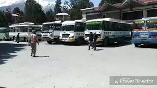 pahadi folk song..hrtc driver. gaddi haule bo Chalayan o drivera,,,  dil dhak dhak haye o mera dolda
