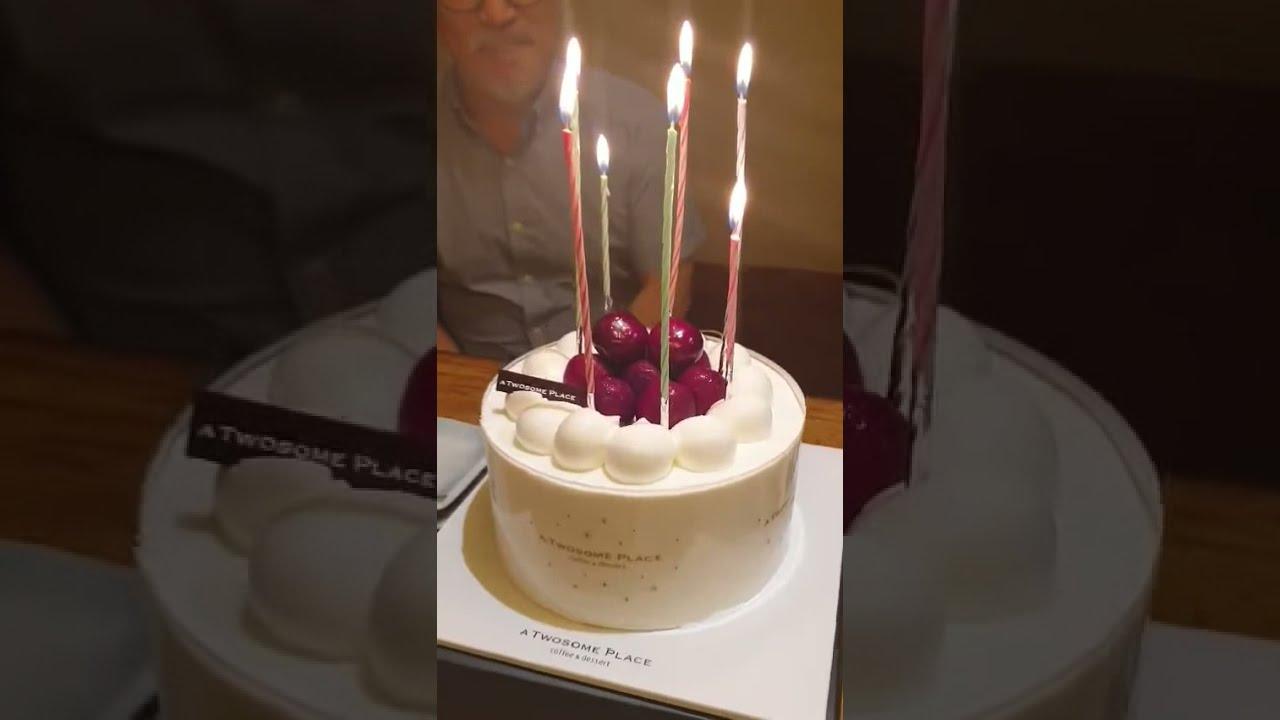 마스터페이 업무제휴 미팅 후 임원분들과 식사 자리에서 생일축하 이벤트 영상