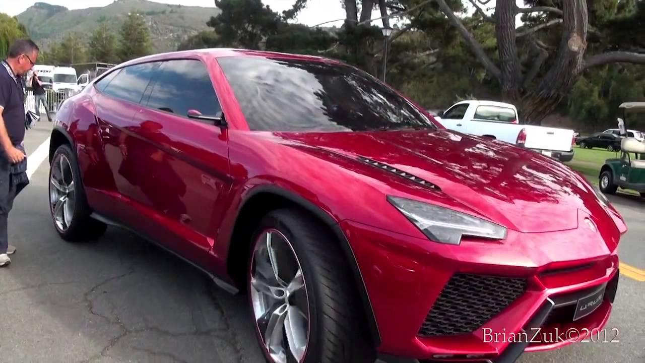 Urus Lamborghini >> Lamborghini Urus On The Road - YouTube
