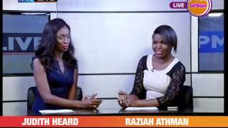 PMLIVE CelebrityEdition: Judith Heard Co-anchors news on Urban TV[4/4]