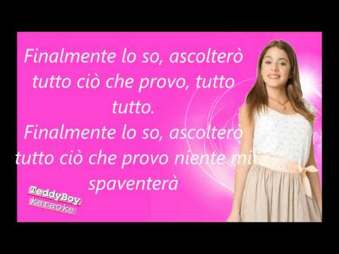 Violetta    nel mio mondo karaoke Travel Video