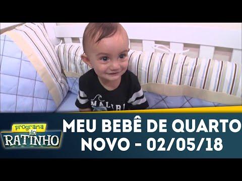 Meu Bebê De Quarto Novo - Completo | Programa Do Ratinho (02/05/18)