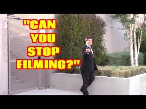 1st Amendment Audit, Viacom Hollywood