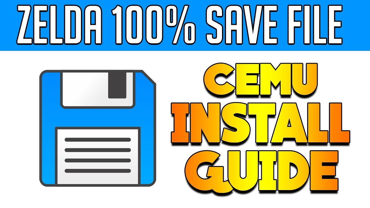 Cemu 1 11 2 | BotW 100% Save | Install Guide