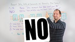 Aren't 301s, 302s, and canonicals all the same - Whiteboard Friday