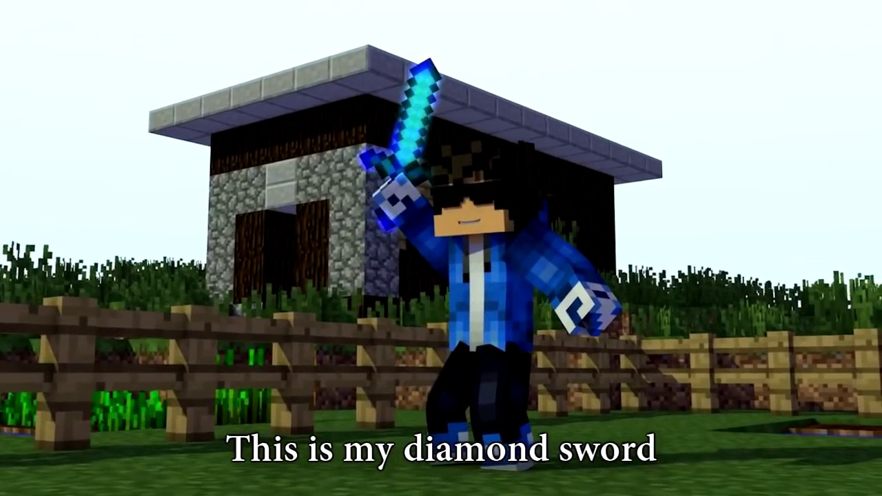 "minecraft song "" DIAMOND SWORD"" 11 hour - YouTube"