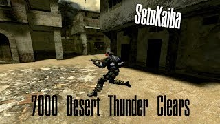SetoKaiba's 7.000th Desert Thunder Clear .:Victorious:.  Old School Equip Only   Combat Arms Classic