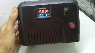 Regulador de Voltagem 0 a 24 Volts - Muito Fácil!