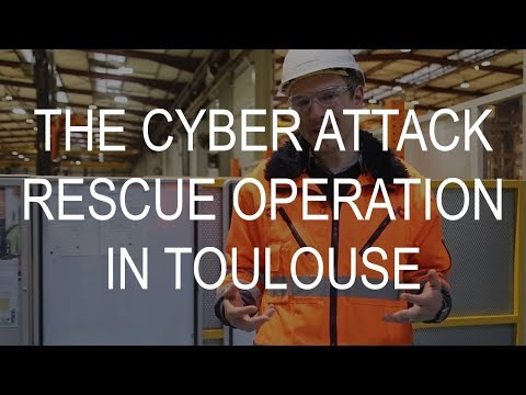 The cyber attack rescue operaton in Hydro Toulouse
