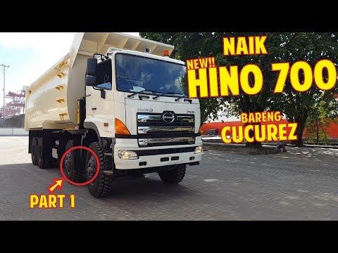 [EKSKLUSIF] Naik Dan Nyobain HINO 700 Profia 8x4 Bareng CUCUREZ | PART 1