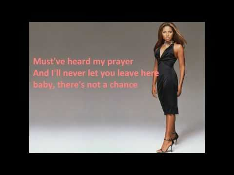 Toni Braxton -  Not a chance (lyrics on screen)